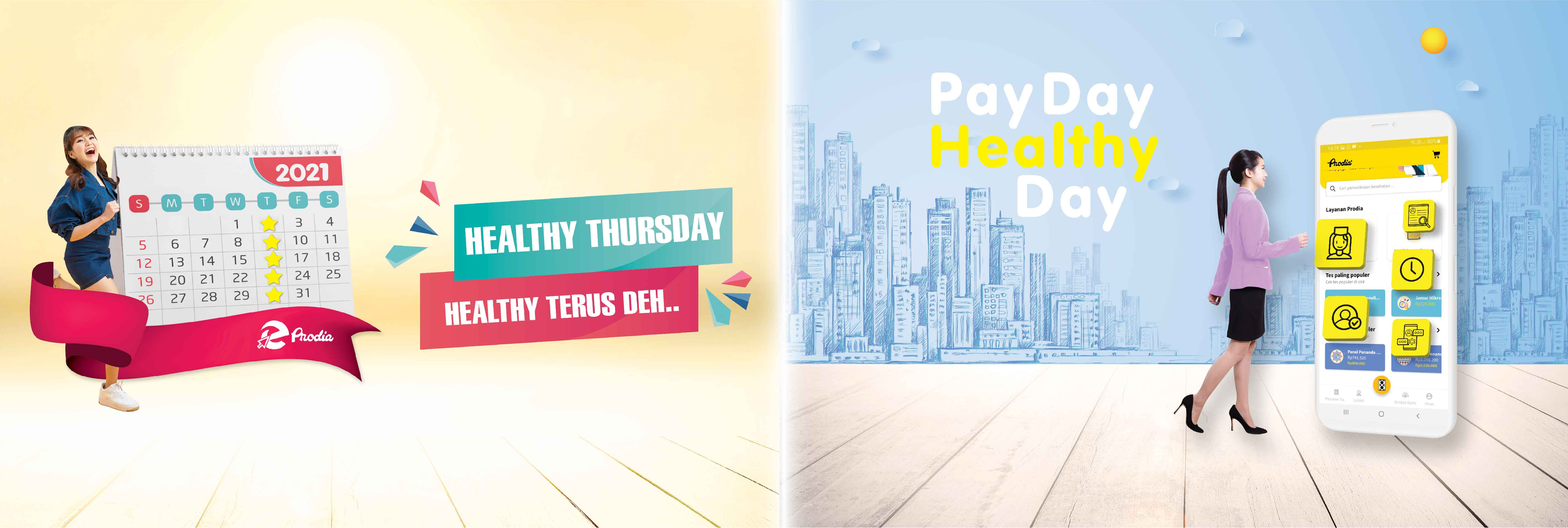 Healthy Thursday & PayDay Healthy Day