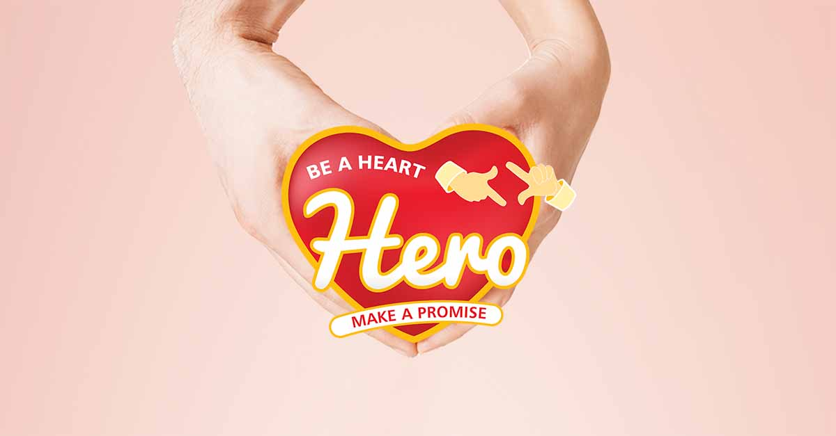 Be a Heart Hero. Make a Promise