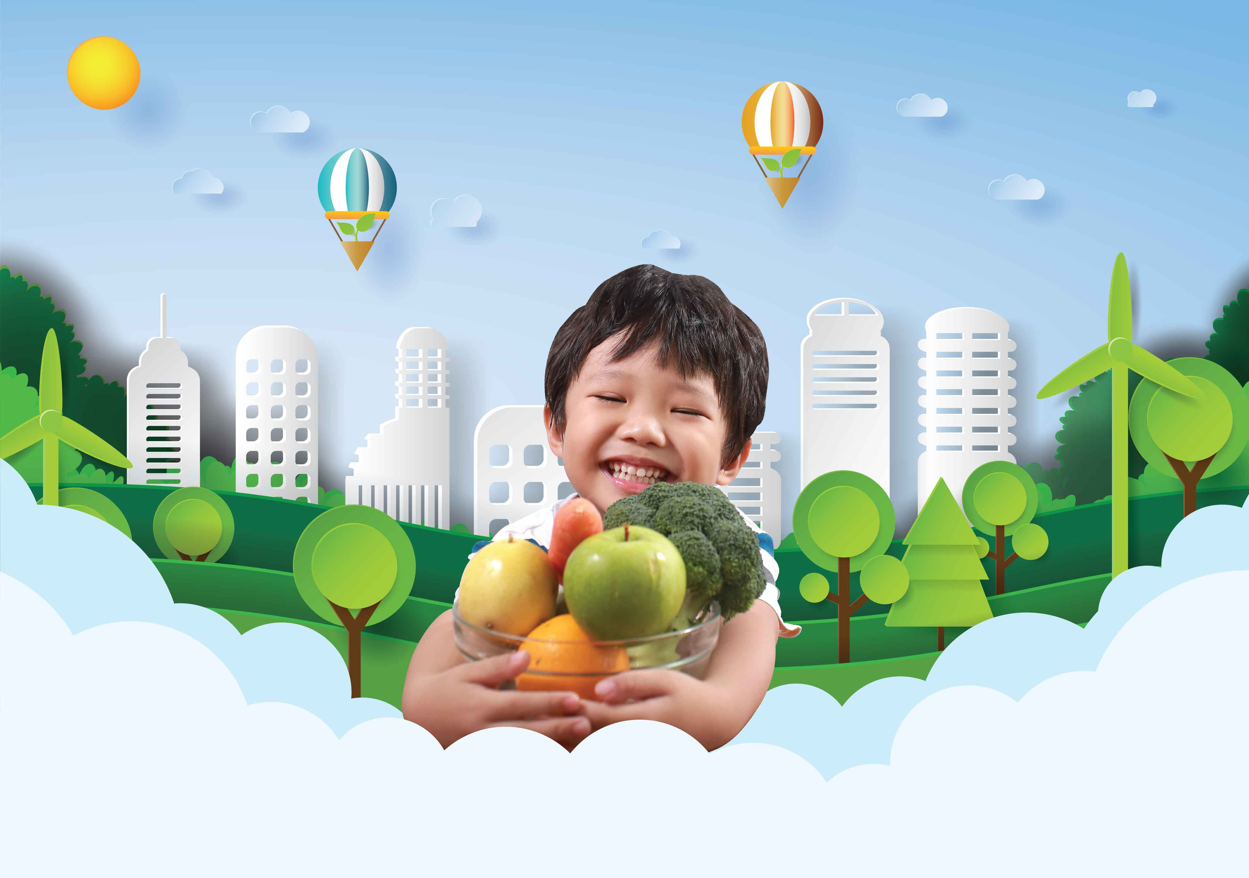 Nutrition First for Bright Future