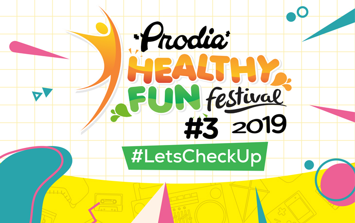 Let's Go Back to the 90's with Prodia Healthy Fun Festival 2019