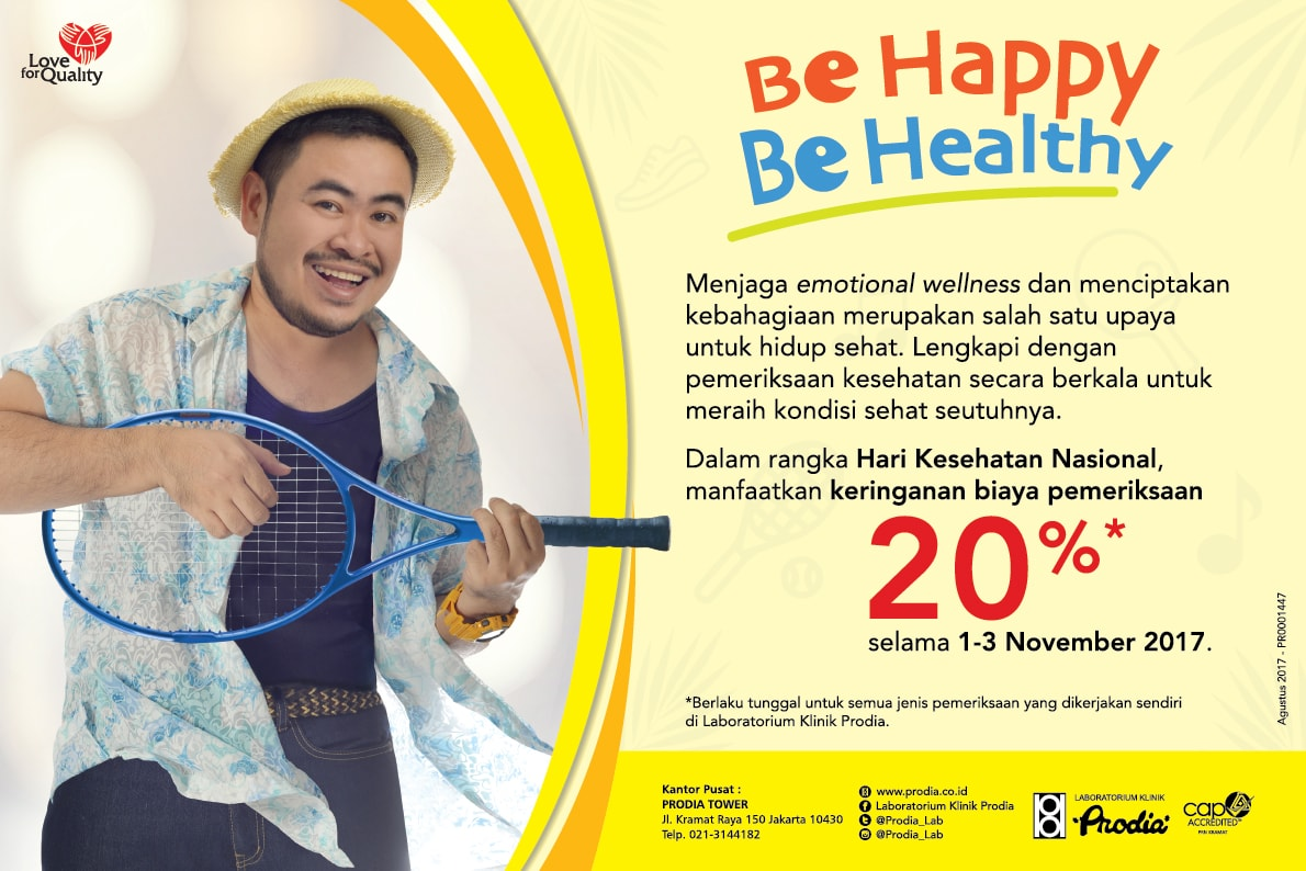Be Happy Be Healthy
